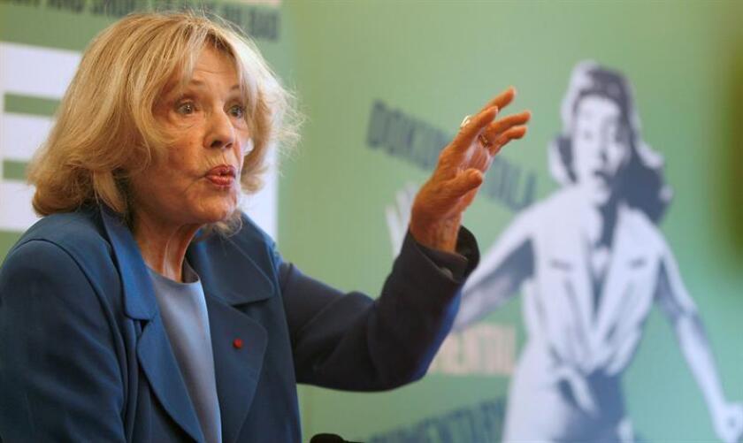 La actriz francesa Jeanne Moreau. EFE/Archivo