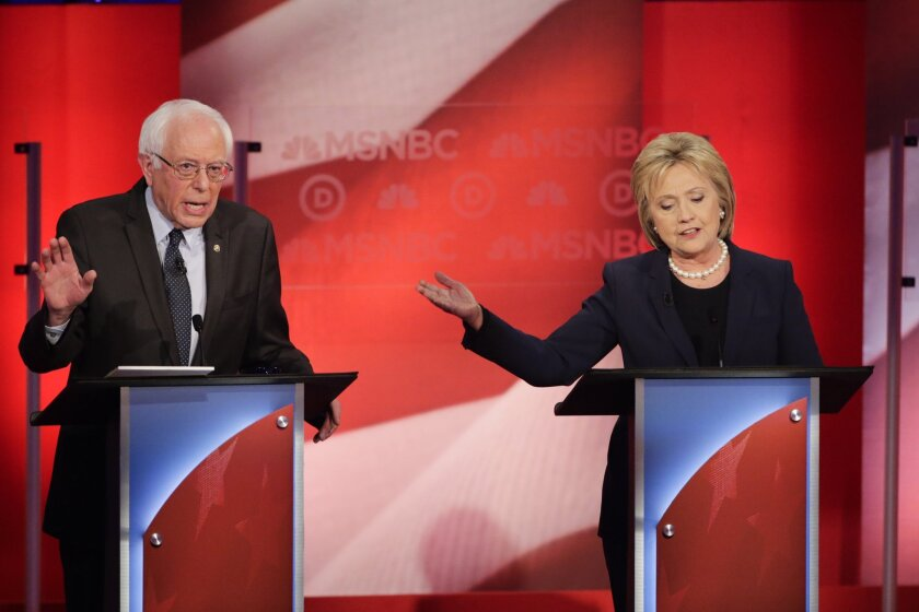 Democratic presidential candidates Bernie Sanders and Hillary Clinton briefly address the death penalty during Thursday's Democratic debate. The issue should be explored more often.