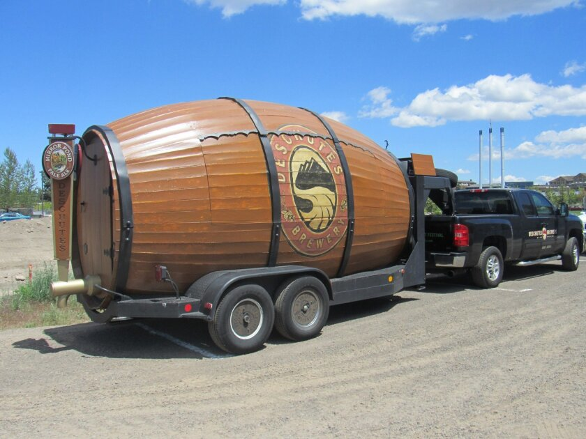 Woody, the brewery's rolling taproom, will roam through several San Diego County neighborhoods.