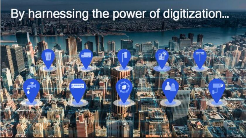 A presentation last month to El Cajon by Qualcomm explained how the communications giant can help it be a 'Smart City.'