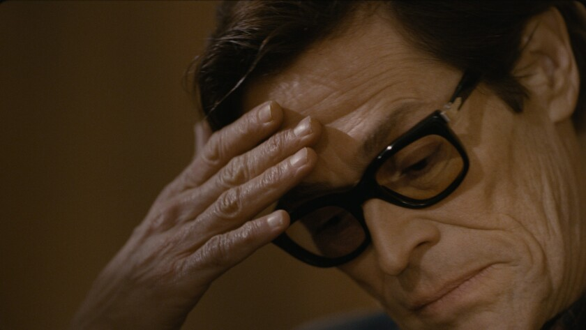 "Willem Dafoe in a scene from ""Pasolini."" Credit: Kino Lorber"