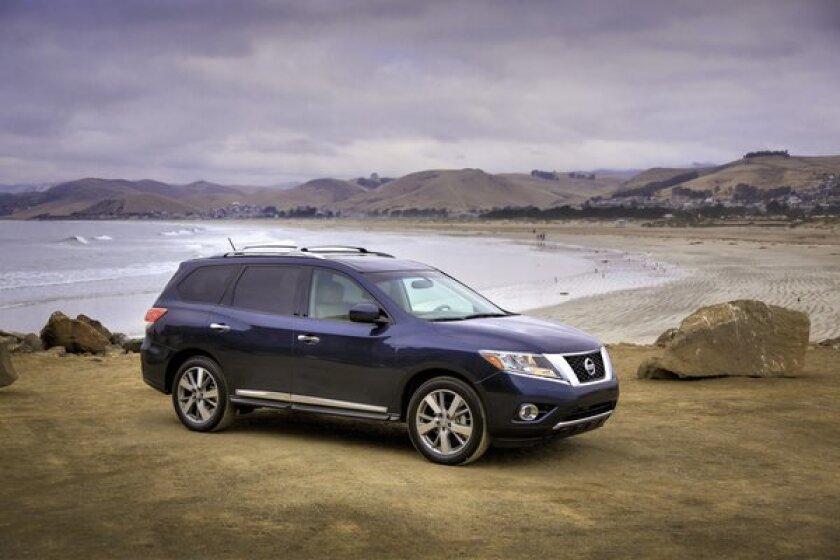 Nissan Pathfinder recalled