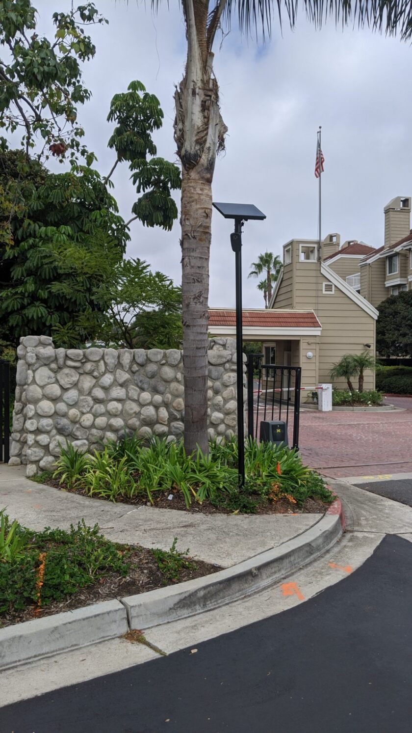 Looking to combat crime, H.B. gated community turns to license plate reading cameras