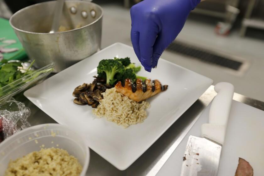 L.A. Kitchen preps meals for the elderly