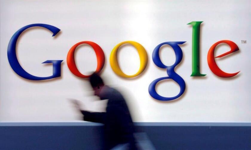 Vista del logo de Google. EFE/Archivo