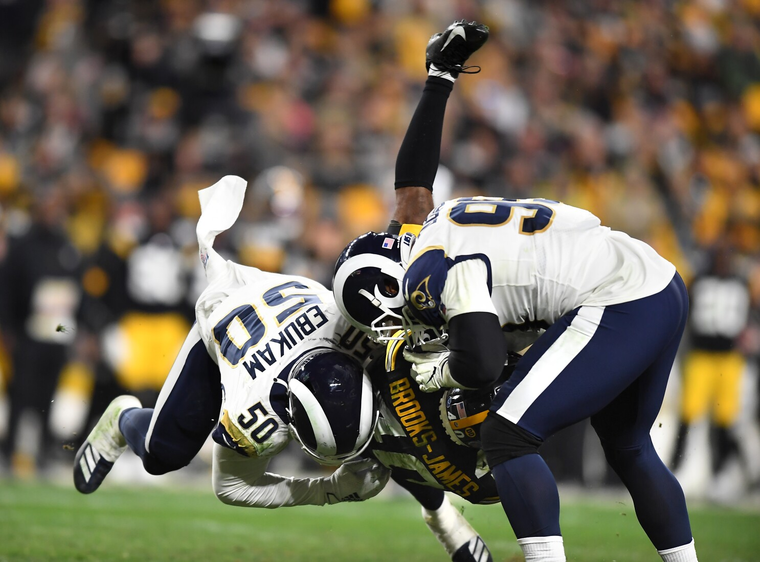 Rams Aaron Donald Sad To Leave Hometown Pittsburgh With Loss The San Diego Union Tribune