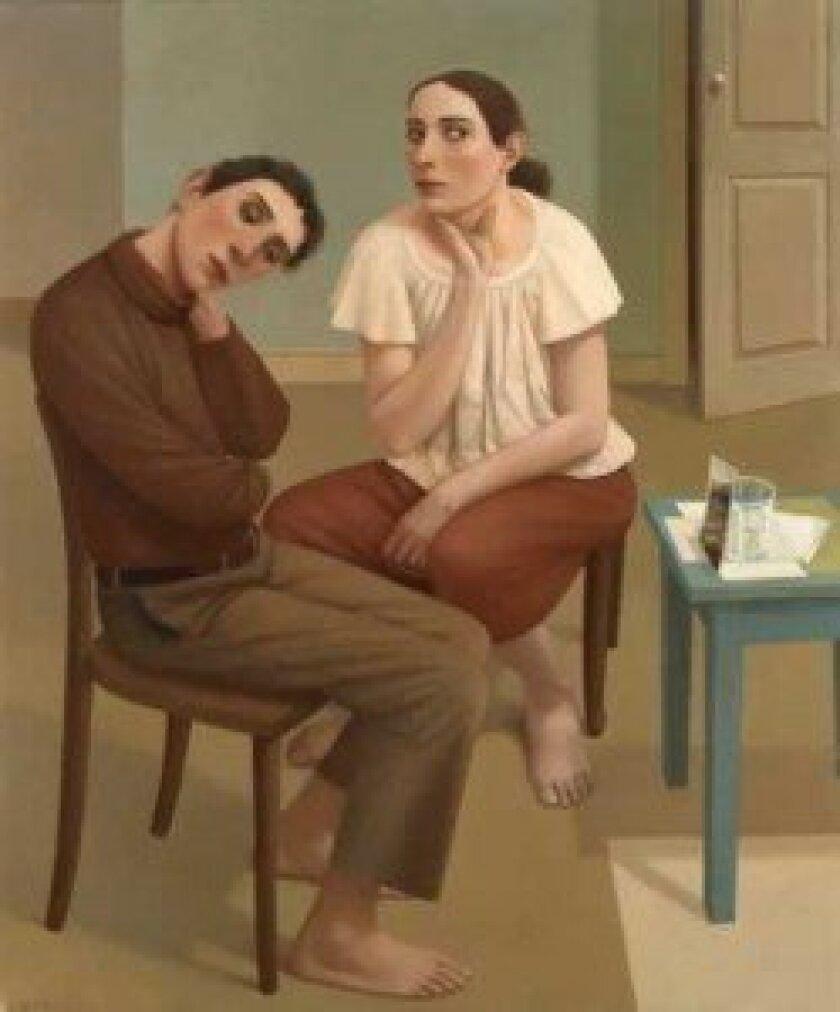 'The Best of Times,' oil on canvas by Alan Feltus, in studio Nov. 8-Dec. 1, on exhibit through Dec. 29.
