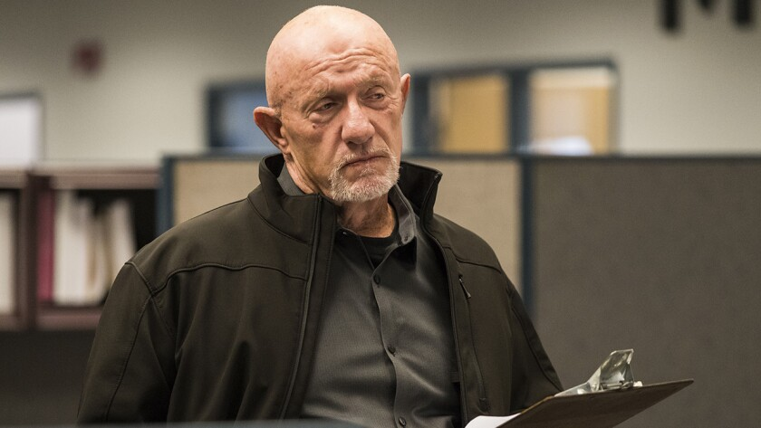 "Jonathan Banks in ""Better Call Saul"" on AMC."