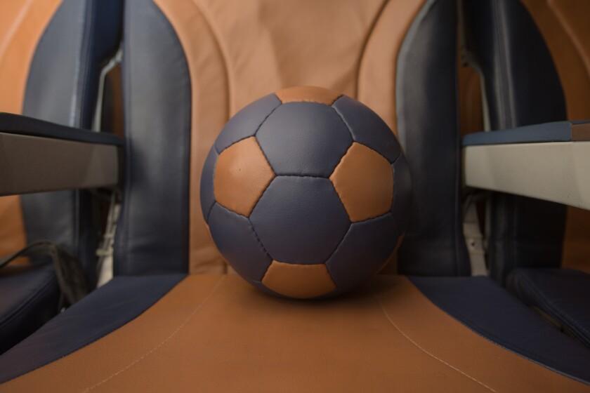 Southwest Airlines soccer ball