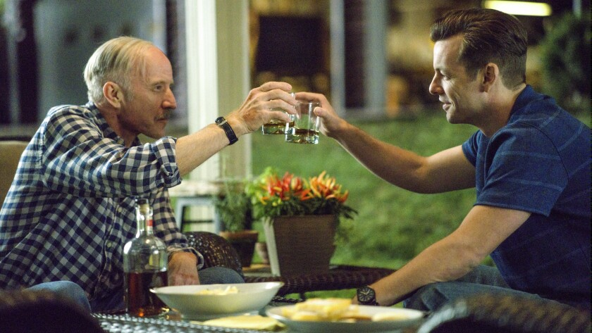 """Arliss Howard, left, and Gethin Anthony in """"Manhunt: Deadly Games"""" on CBS."""