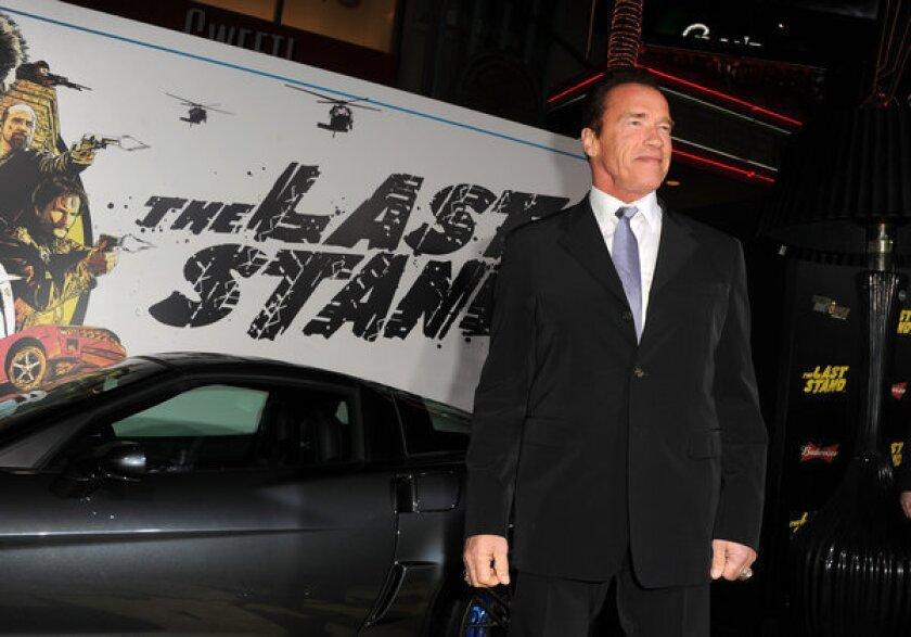Schwarzenegger's comeback flops, Del Toro's 'Mama' is a hit