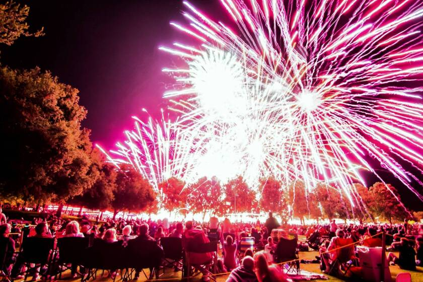 Simi Valley spectators tell of fireworks chaos