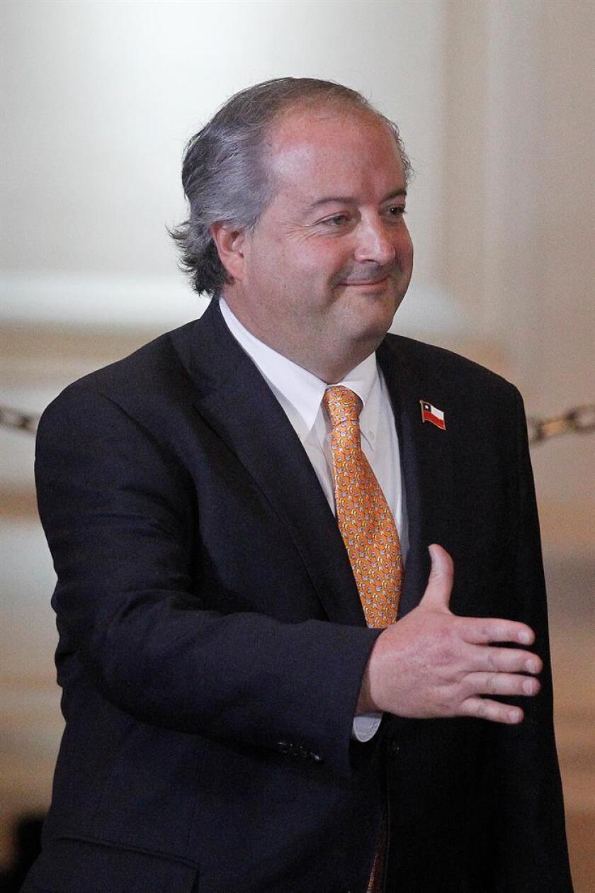 En la imagen el ministro chileno del Trabajo y Previsión Social, Nicolás Monckeberg. EFE/Archivo