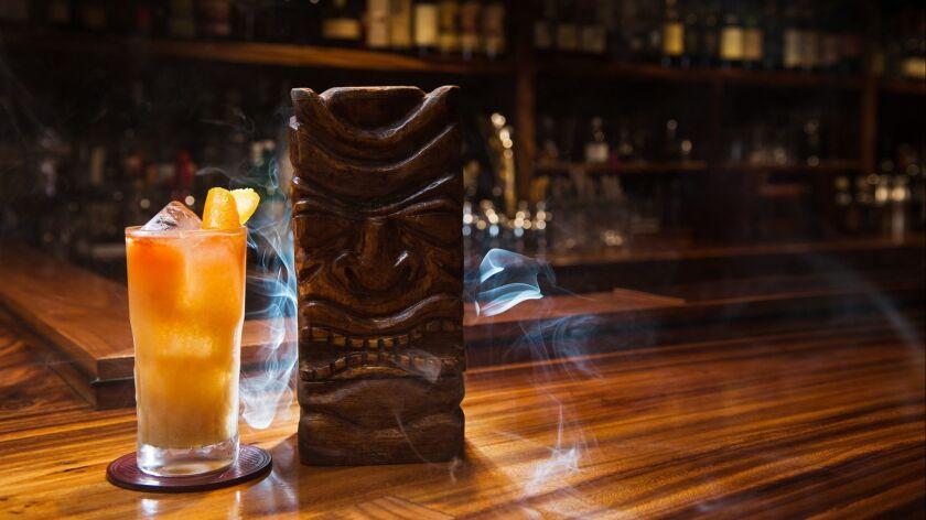 E Ho`o Pau Mai Tai from Bar Leather Apron in Honolulu, Hawaii.