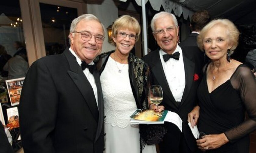Alan and Gretchen Pagnotta, Jerry and Sharon Stein (event chair)