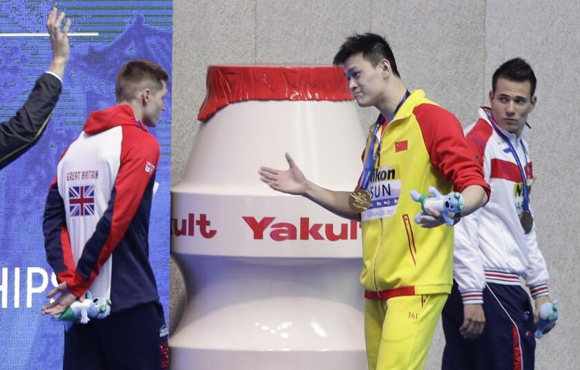 Swimming CAS Sun Yang Trial