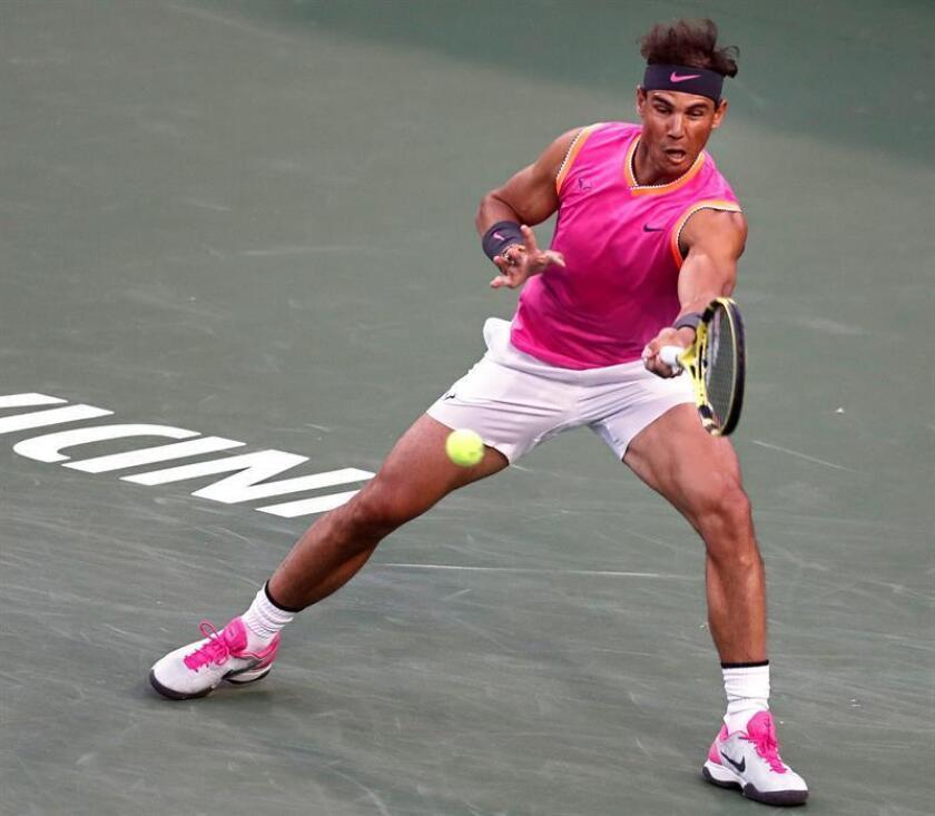 En la imagen, el tenista español Rafael Nadal. EFE
