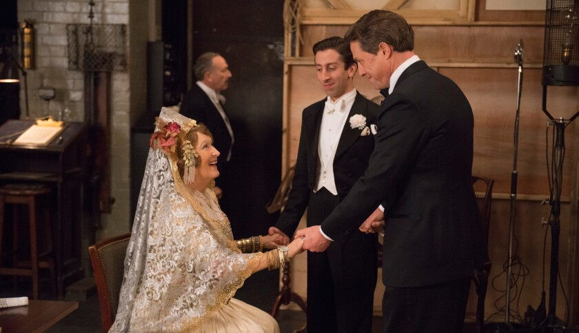 Florence Foster Jenkins played by Meryl Streep