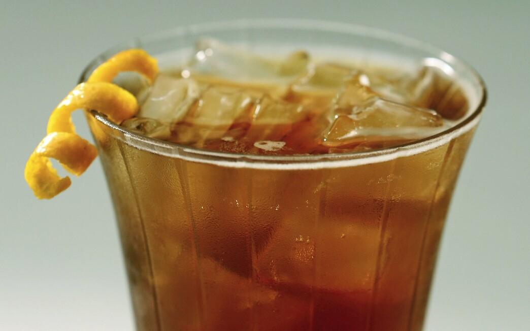 Saucy pumpkin cocktail