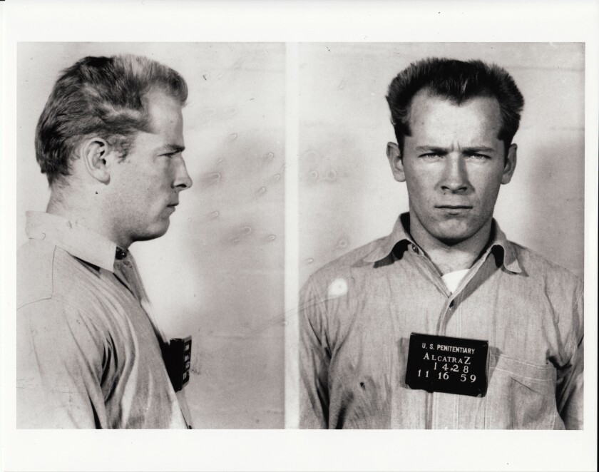 Whitey Bulger was an Alcatraz inmate in 1959.