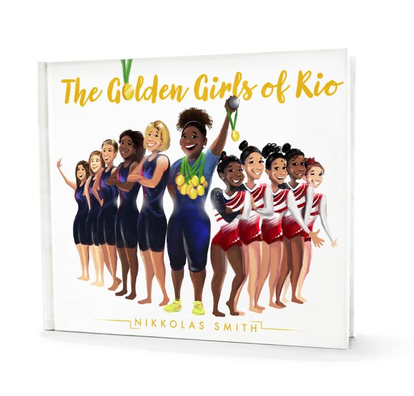 Nikkolas Smith Golden Girls of Rio