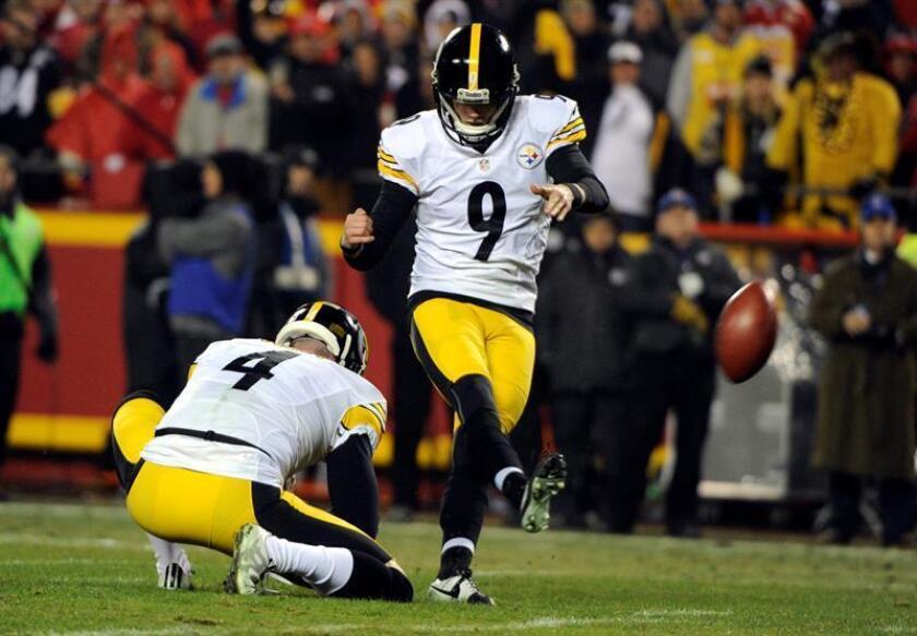 Chris Boswell estableció una nueva marca de goles de campo convertido en un partido de playoffs de la Liga Nacional de Fútbol Americano (NFL). EFE