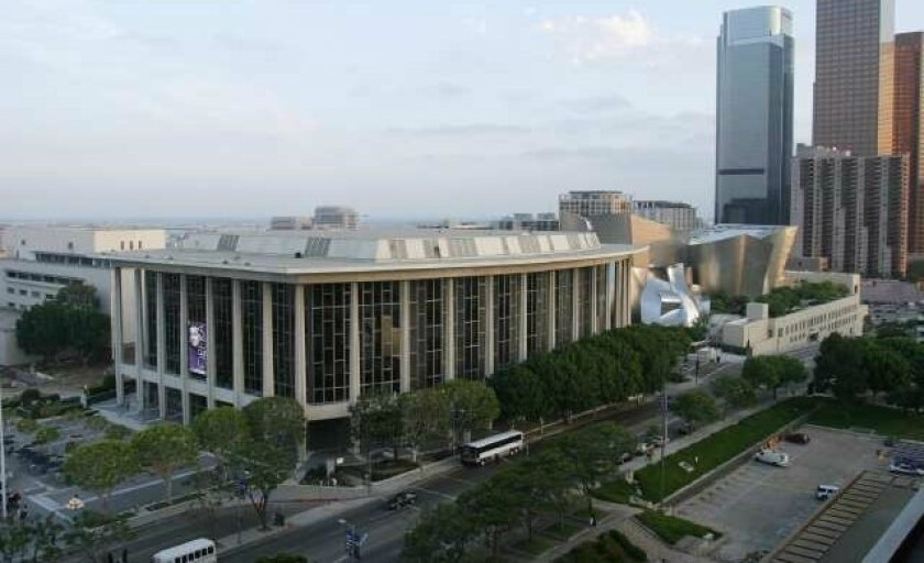 The Dorothy Chandler Pavilion, home of Los Angeles Opera, in downtown L.A.
