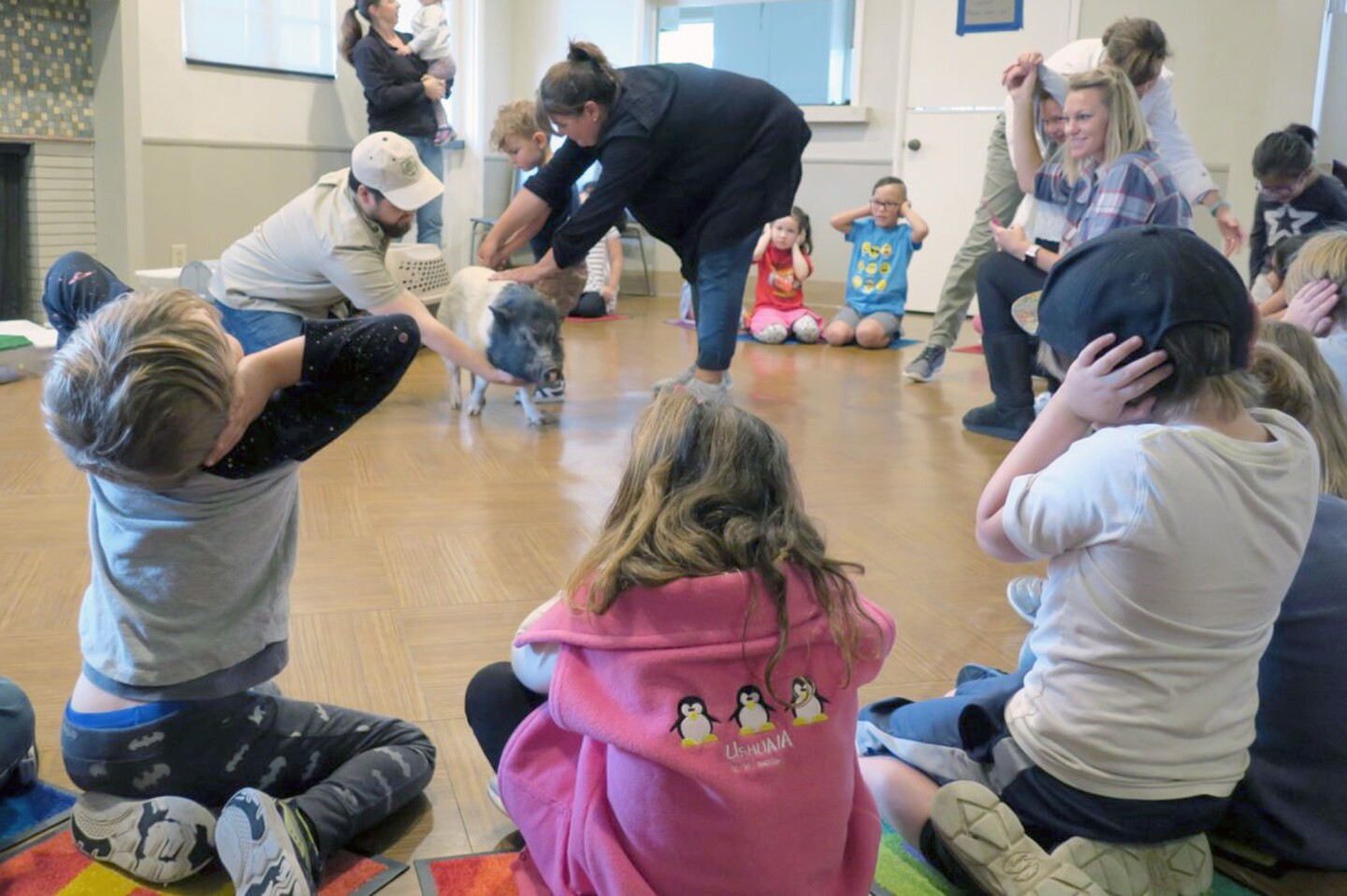 Photo Gallery: Critter Squad Wildlife Defenders visits local nursery school