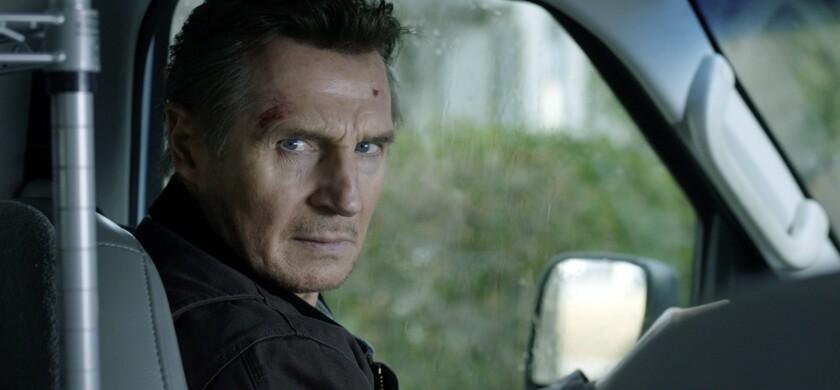 """Liam Neeson en una escena de """"Honest Thief"""" en una imagen proporcionada por Open Road Films."""