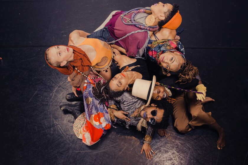 """Urban Bush Women tackle beauty and identity in """"Hair & Other Stories"""" at the Ford Theatres."""