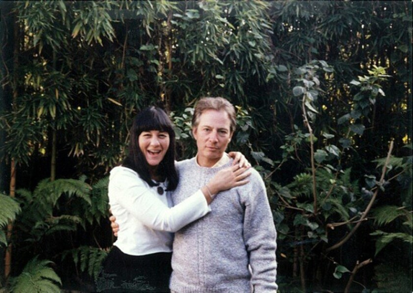 """Susan Berman and Robert Durst shown in the HBO documentary """"The Jinx: The Life and Deaths of Robert Durst."""""""