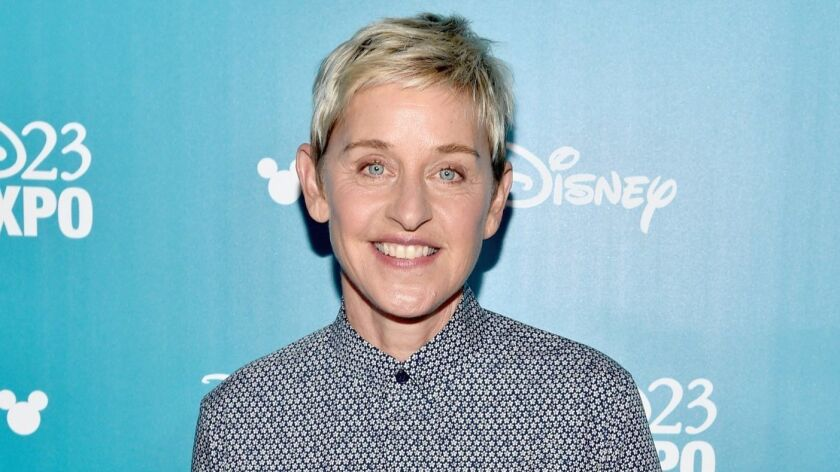 Ellen DeGeneres joined numerous celebrities, entertainment and professional sports organizations to advocate for LGBTQ youth on Spirit Day.