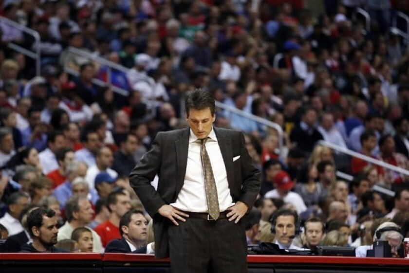 Vinny Del Negro coached the Clippers to the best record in franchise history last season.