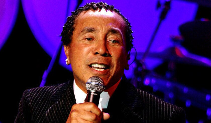 A quick chat with Smokey Robinson