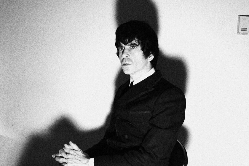 Ian F. Svenonius author, musician and frontman of the Make-Up.