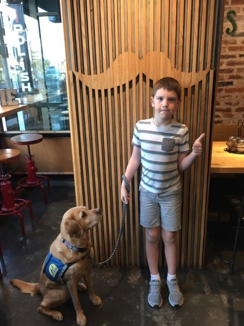 Breezy and Eli take a walk to a local restaurant to expand food choices!