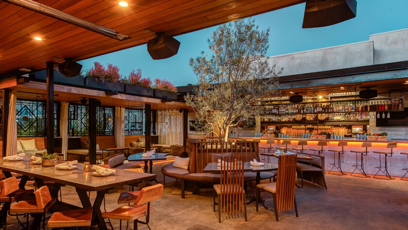 Little Italy's Kettner Exchange has a fun, club-like patio scene.
