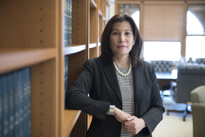 California Supreme Court Chief Justice Tani Cantil-Sakauye