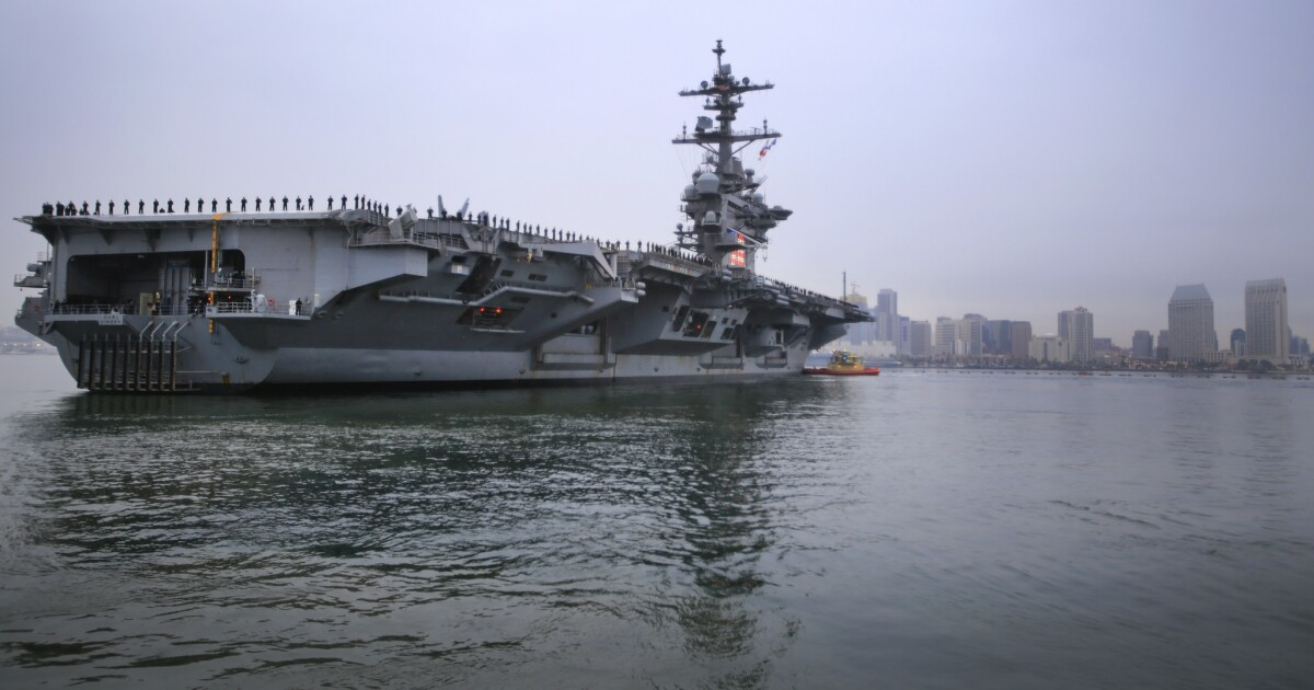 Navy urges sick sailors to stay home, off ships, but only some will be tested for COVID-19