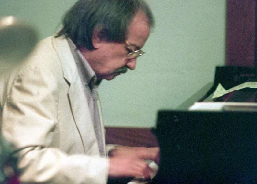 Claude Williamson, a jazz pianist who was among the last living figures from L.A.'s cool-jazz era, has died at 89. He is shown here in 1995 playing at Spaghettini in Seal Beach.