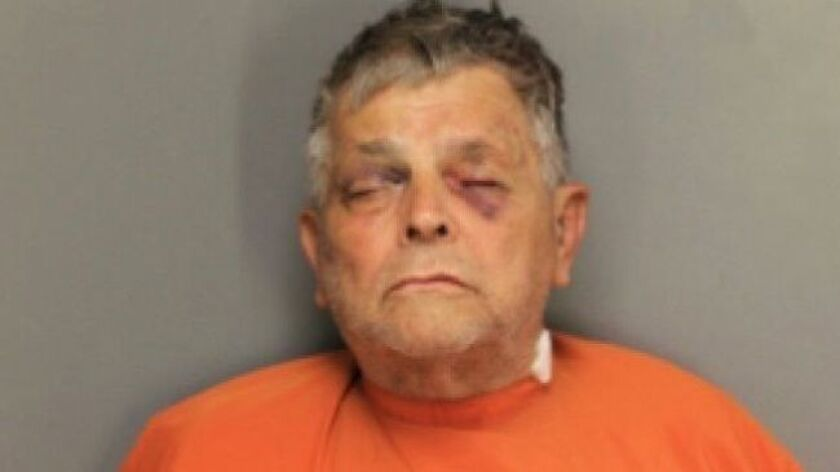Frederick Hopkins, 74, is charged with one count of murder and six counts of attempted murder in an attack on officers in Florence County, S.C.
