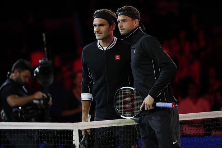 Dimitrov elimina a Federer y Medvedev busca ocupar su puesto en la final