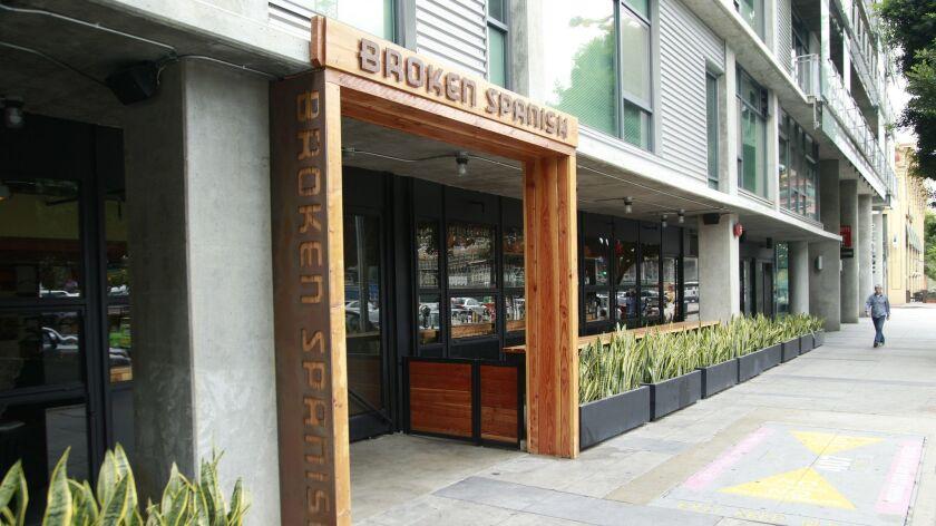 LOS ANGELES, CA., SEPTEMBER 13, 2016 -- Broken Spanish follows the evolution of its chef, Ray Garcia