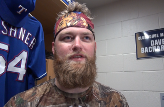 Andrew Cashner on reuniting with Padres teammates, life in Texas and more