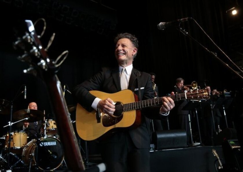 Lyle Lovett made his San Diego debut in 1987. He returns for a July 4 concert as part of the San Diego Symphony's 2019 Bayside Summer Nights season.