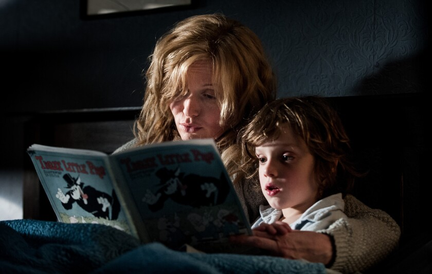Review: 'The Babadook,' smart and dark, delivers grown-up horrors