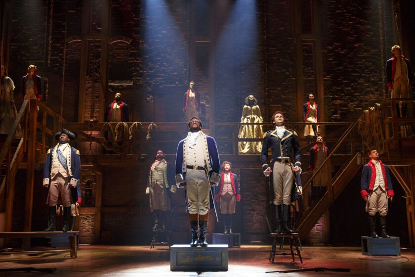 Hamilton is returning to the San Diego Civic Theatre for three weeks.