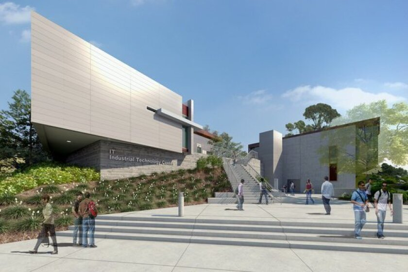 San Marcos College >> San Marcos Industrial Technology Center Under Way At