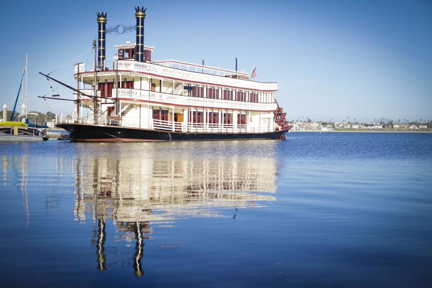 All the action took place aboard the William Evans Historic Sternwheeler, cruising Mission Bay.
