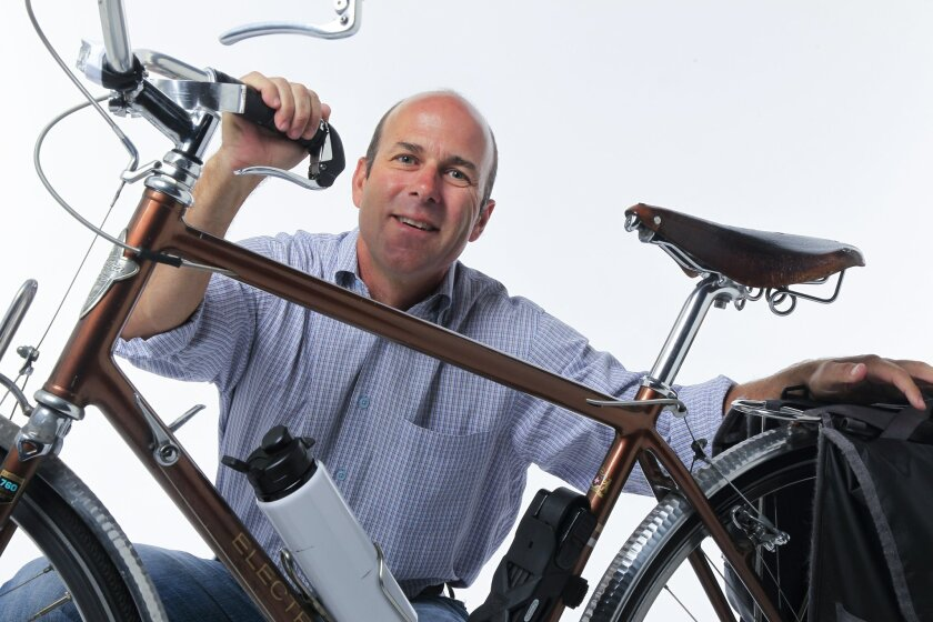 Andy Hanshaw is serving on the San Diego City Council's first-ever Bicycle Advisory Committee.